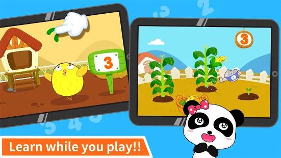 Baby Panda Learns Numbers Screenshot
