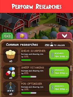 Idle Wool  Money Clicker Tycoon Game Screenshot