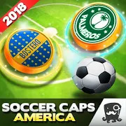 Soccer Caps Stars League Copa America 2018