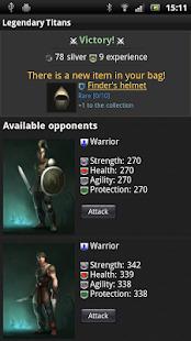 Clash of Legendary Titans Screenshot
