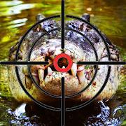 Crocodile Hunter 3d : Hungry Crocodile Attack Game