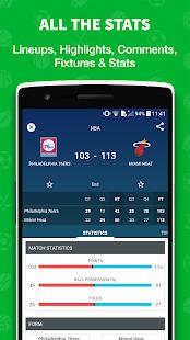 Skores - Live Soccer Scores Screenshot