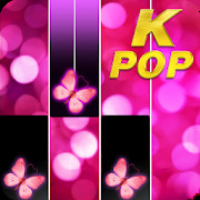 Pink Piano Music Tiles: KPOP