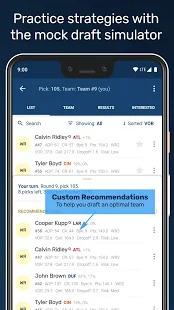 Draft Punk - Fantasy Football Draft Companion Screenshot
