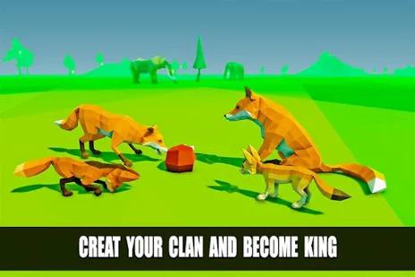 Fox Simulator Fantasy Jungle: Animal Family Games Screenshot