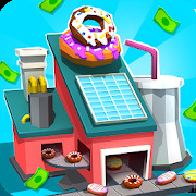 Donut Factory - Idle Shop Clicker Adventure Game