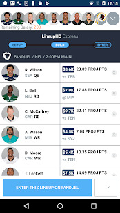 RotoGrinders - DFS Strategy Lineups and Alerts Screenshot