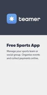Teamer - Sports Team App Screenshot