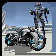 Moto Robot Fight: Futuristic War Robots Transform