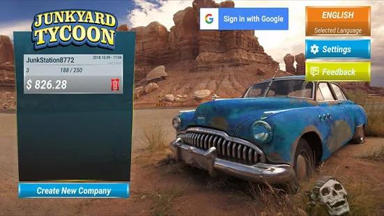 Junkyard Tycoon - Car Business Simulation Game Screenshot