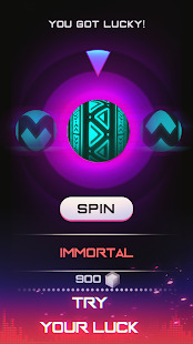 Infinity Run: Rush Balls On Rhythm Roller Coaster Screenshot
