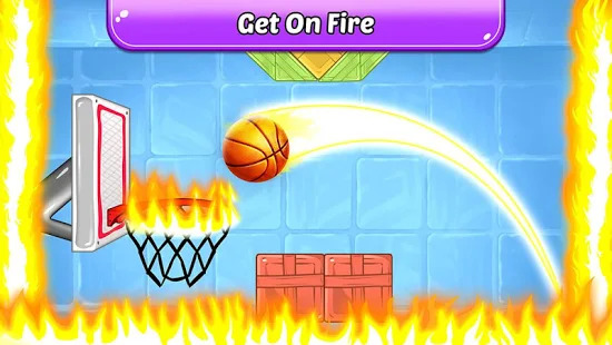 Basketball Shooting Star: Free Basketball Shooting Screenshot