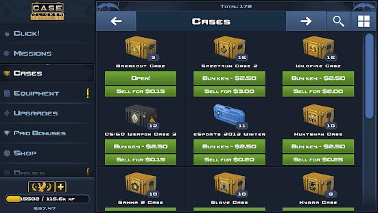 Case Clicker 2 - Custom cases! Screenshot