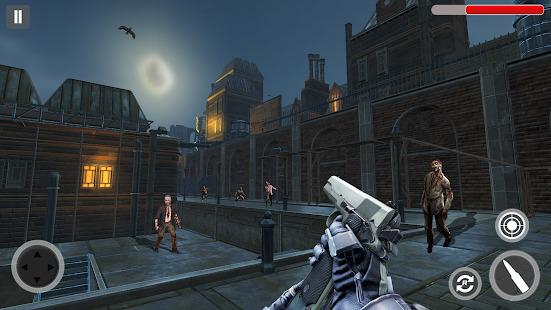 Zombie Hunter Zombie Shooting games : Zombie Games Screenshot