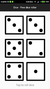 Dice - A free dice roller Screenshot