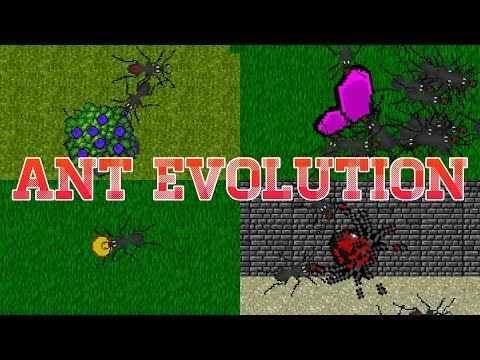 Games lol | Game » Ant Evolution – ant colony simulator