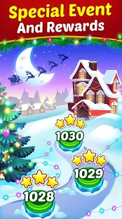 Christmas Cookie - Santa Claus's Match 3 Adventure Screenshot