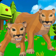Cougar Simulator: Big Cat Family Game