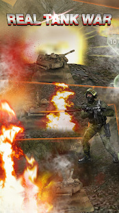 Real Tank War:World War of TankBest Shooting Game Screenshot