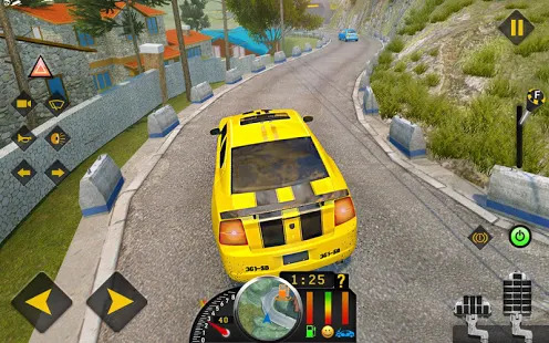 Games lol   Game » Offroad Taxi Car Driving 2019: Driving