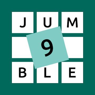 9 Letter Jumble - Anagram Games