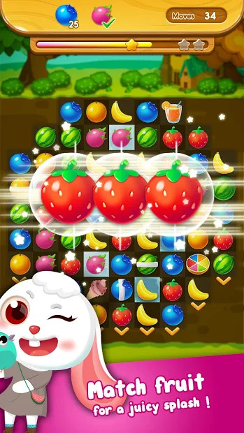 Fruit Go  Match 3 Puzzle Game happiness and fun Screenshot