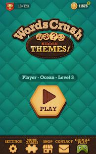 Words Crush: Hidden Themes! Screenshot