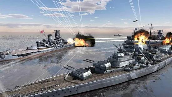 World Warships Combat Screenshot