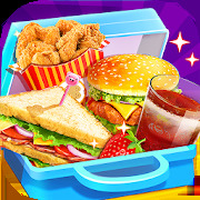 School Lunch Food Maker 2: Free Cooking Games