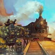 Tornado Robot Train Simulator:Free Robot Games