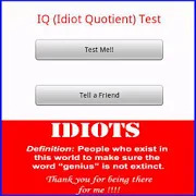 IQ Idiot Quotient Test