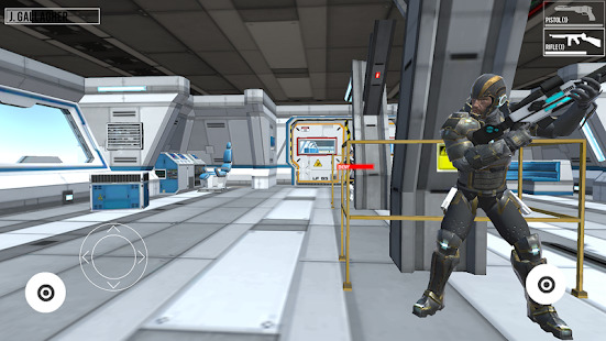 Elite Space Trooper: Shooting Game Screenshot