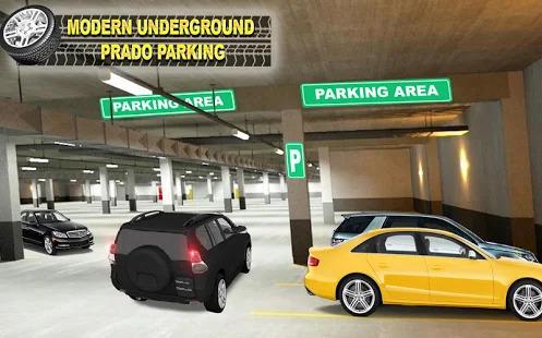 Modern Parking: New Prado Parking Game Screenshot