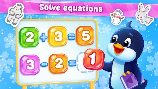 Learning Math with Pengui ~ Kids Educational Games Screenshot