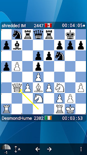 Chess at ICC Screenshot