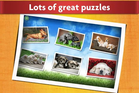 Dogs Jigsaw Puzzles Game - For Kids & Adults ???? Screenshot