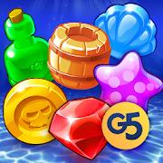 Pirates & Pearls - A Match 3 Pirate Puzzle Game