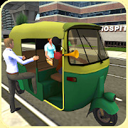 Tuk Tuk Driver : Rickshaw Game