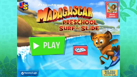 Madagascar Surf n' Slides Free Screenshot