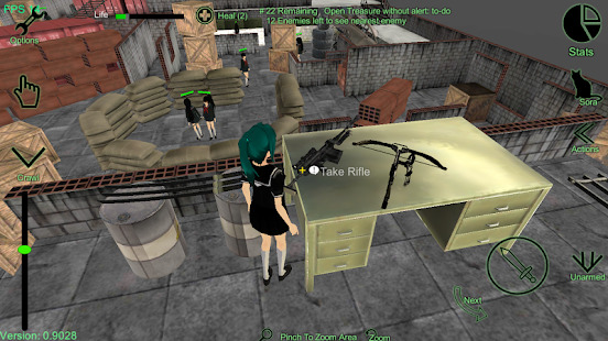 Tactical Schoolgirls - School Girl Supervisor Screenshot