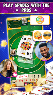 VIP Spades - Online Card Game Screenshot