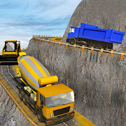 Construction Crane Hill Driver: Cement Truck Games