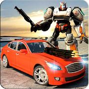 Car Robot Speed Transforming :  Modern Robot 3D