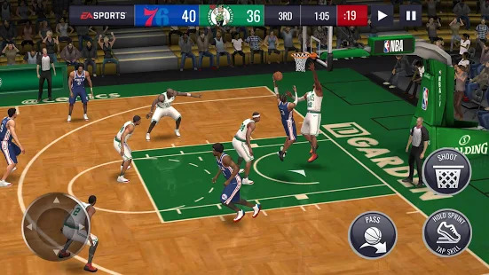 NBA LIVE Mobile Basketball Screenshot