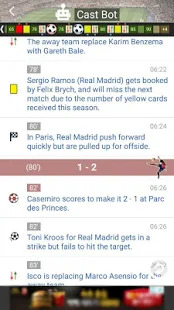 LIVE Score - the Fastest Real-Time Score Screenshot