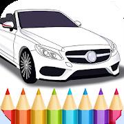 German Cars Coloring Book