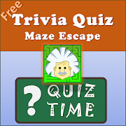 Maze Escape-Trivia games,Quiz games,learning games