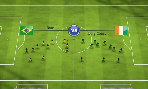 Stickman Soccer 2014 Screenshot