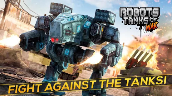 Robots Tanks of War - Transformation Fighting Screenshot