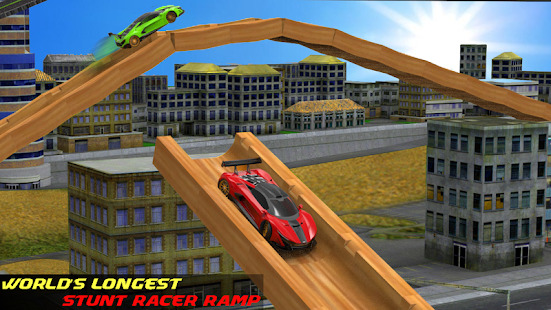 Real Impossible Track Extreme GT Car Stunt Driving Screenshot